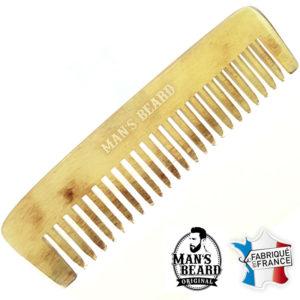 Petit Peigne à barbe en bois