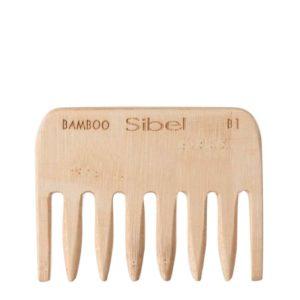 Peigne Démêloir Afro en Bambou
